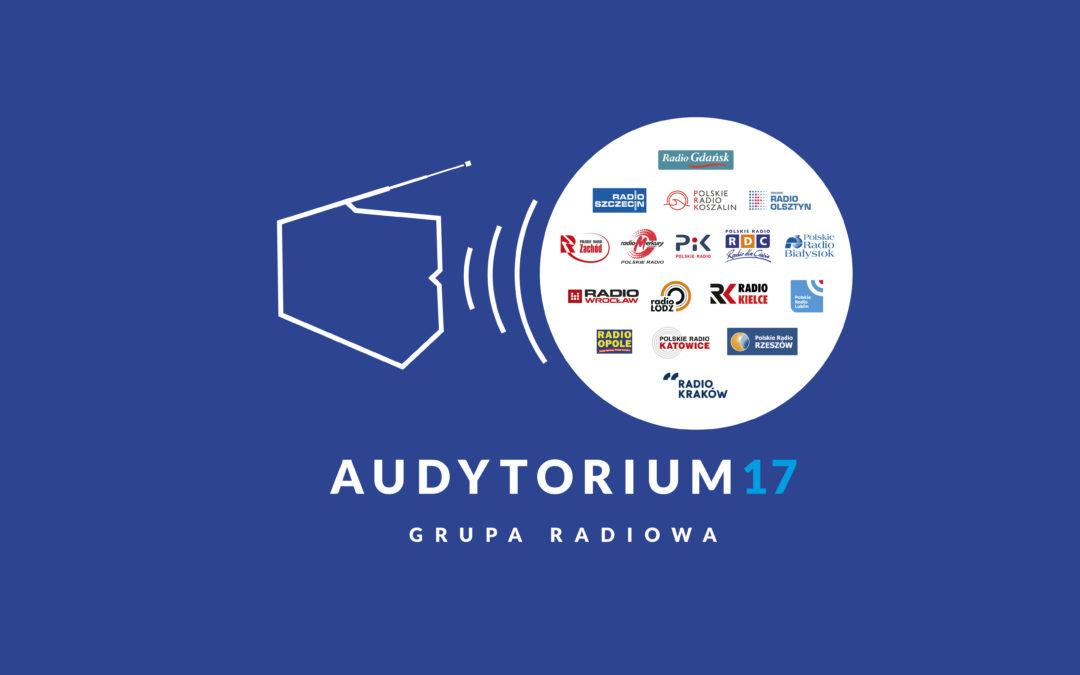 Grupa Radiowa Audytorium 17 zmienia nie tylko LOGO