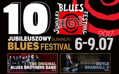 Radio Białystok zaprasza na 10. Suwałki Blues Festival