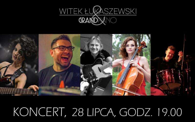 Radio Lublin zaprasza na koncert Witka Łukaszewskiego & Grand Piano