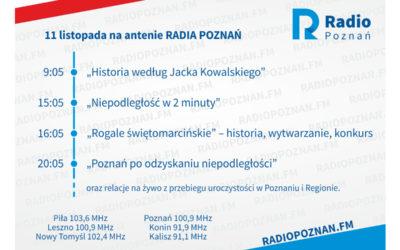 Wyjątkowy dzień na antenie Radia Poznań