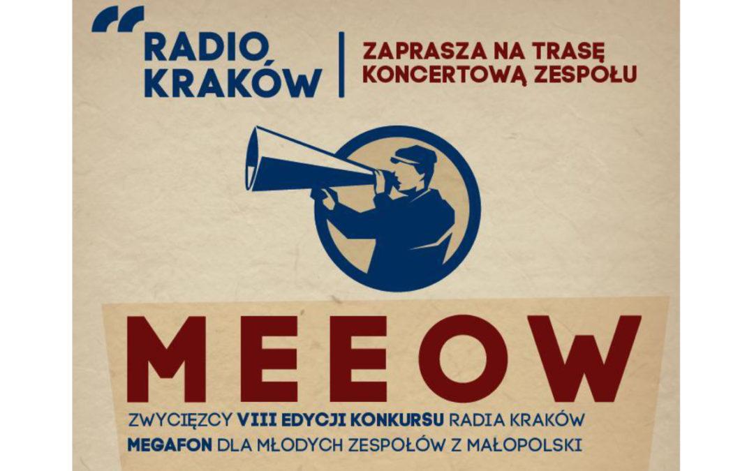 Radio Kraków zaprasza na koncerty Meeow