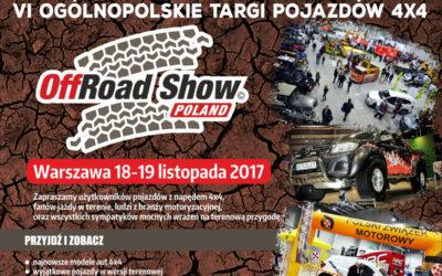 ZapraszamynaVI edycję OffRoad Show Poland!