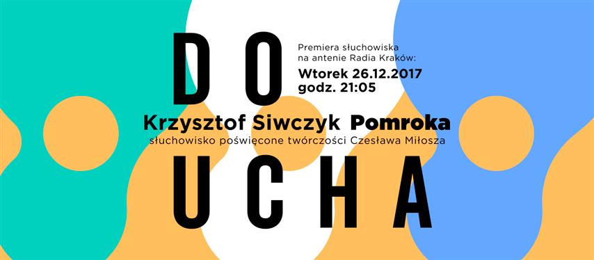 """Premiera """"Pomroka"""" na antenie Radia Kraków"""