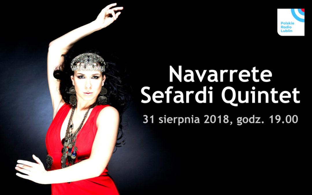 Koncert Navarrete Sefardi Quintet w Radiu Lublin