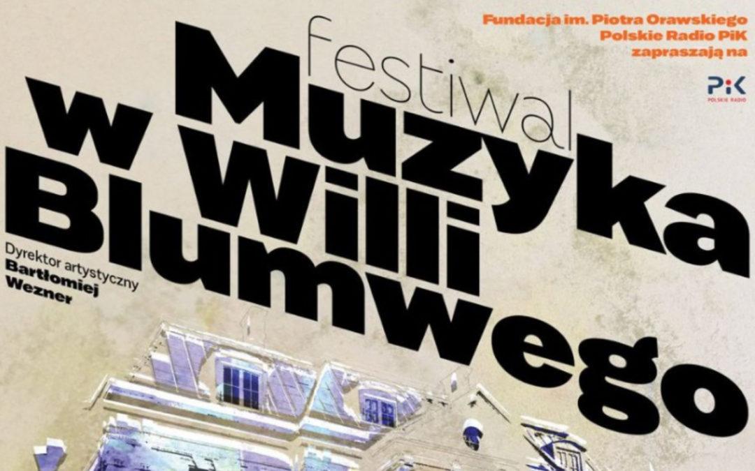 Nowy festiwal w studiu koncertowym Polskiego Radia PiK