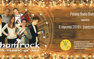 Radio Białystok zaprasza na koncert live zespołu Shamrock