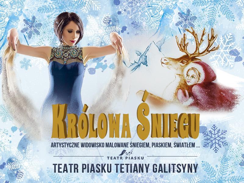 Teatr Piasku Tetiany Galistyny – Królowa Śniegu z Radiem Wrocław