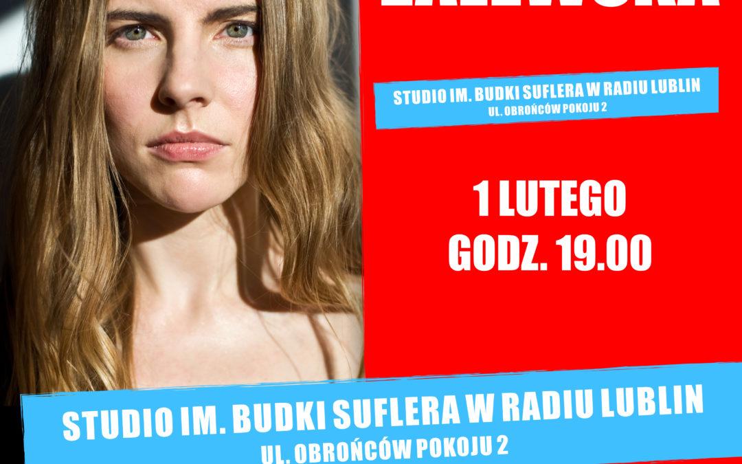 Koncert Marty Zalewskiej w Radiu Lublin