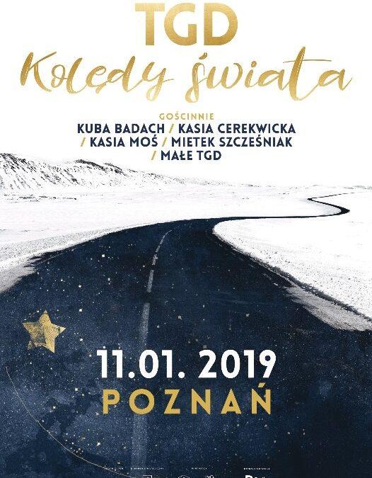 """Radio Poznań zaprasza na koncert TGD """"Kolędy Świata"""""""