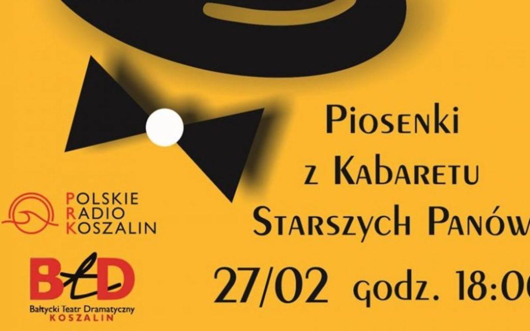 """Radio Koszalin zaprasza na koncert pt. """"Piosenka jest dobra na wszystko"""""""