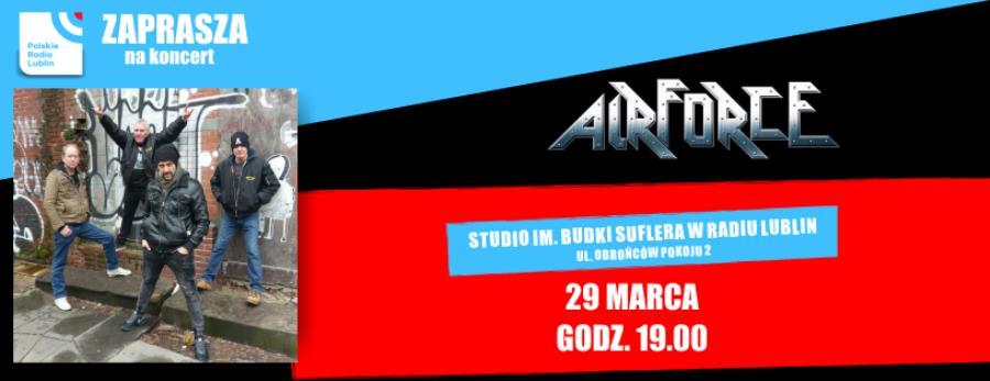 Radio Lublin zaprasza na koncert AirForce!