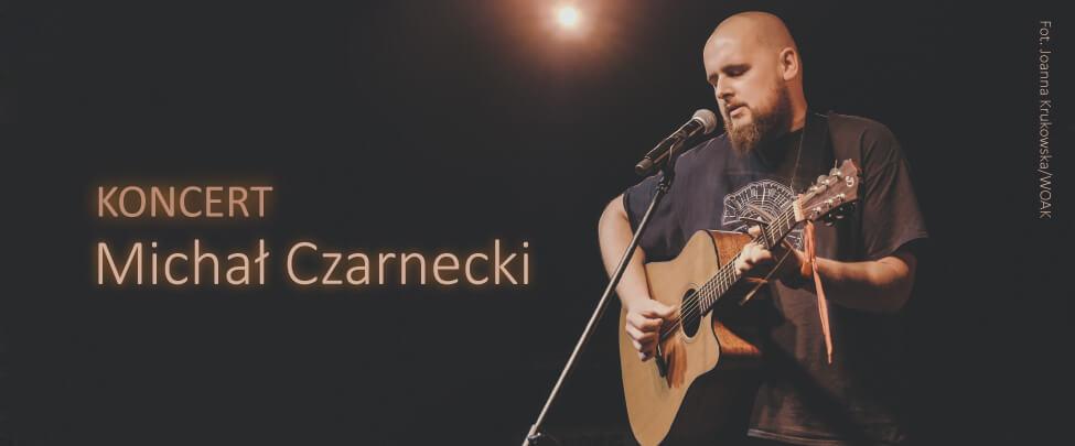 Koncert live – Michał Czarnecki w Radiu Białystok