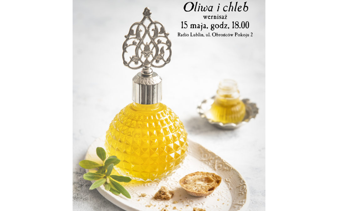 "Wernisaż Shirin Kader – ""Oliwa i chleb""  w Radiu Lublin"