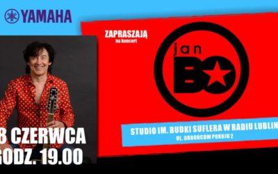 Koncert Jana Bo w Radiu Lublin