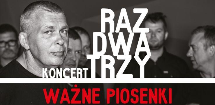 Zespół Raz Dwa Trzy wystąpi w Radiu Gdańsk