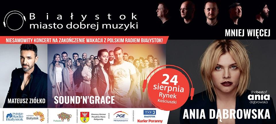 Koncert na zakończenie wakacji z Radiem Białystok