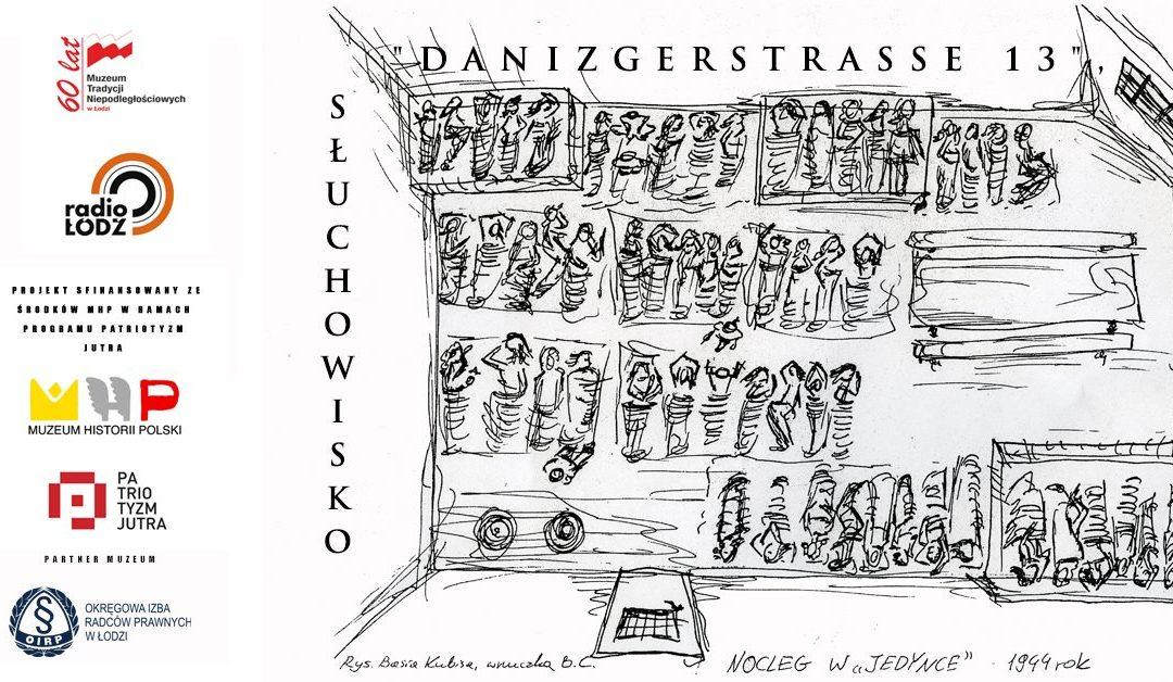 """Premiera słuchowiska """"Danzigerstrasse 13"""" w Radiu Łódź"""