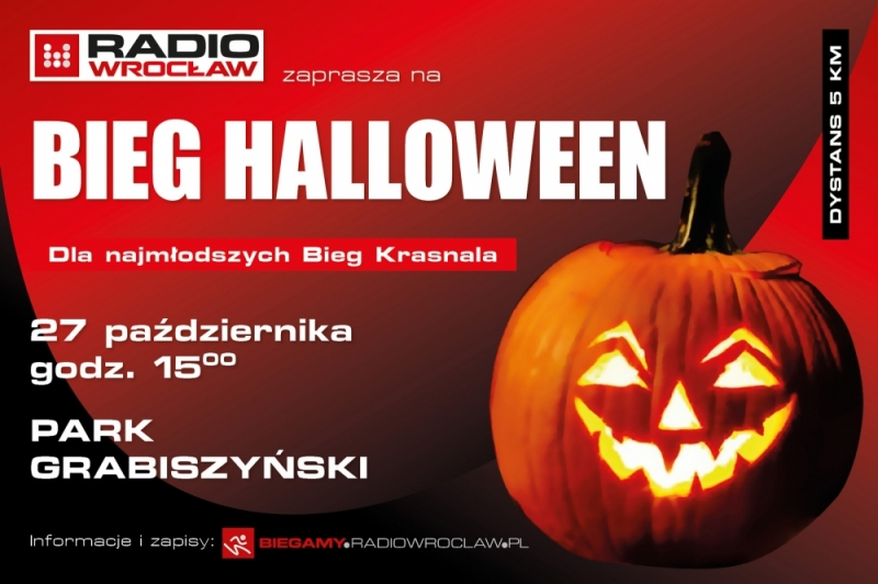 Bieg Halloween Radia Wrocław