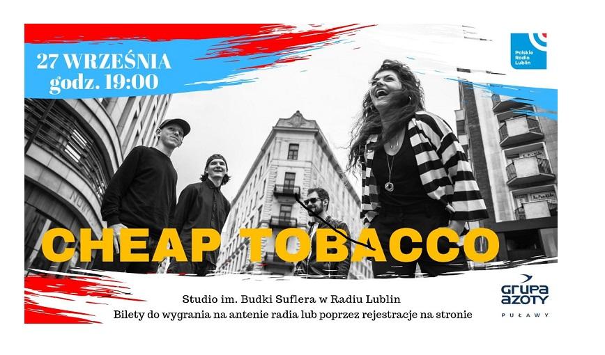 Koncert zespołu Cheap Tobacco w Radiu Lublin