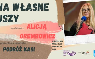 Radio Lublin zaprasza na spotkanie z Alicją Grembowicz