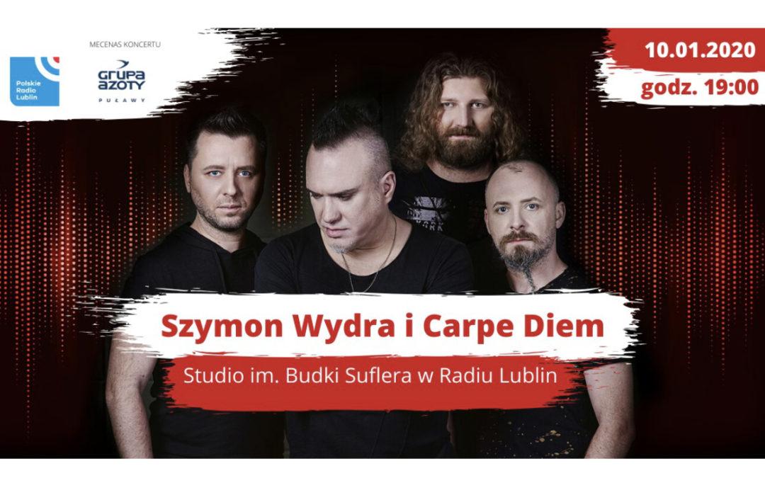Szymon Wydra & Carpe Diem w Radiu Lublin