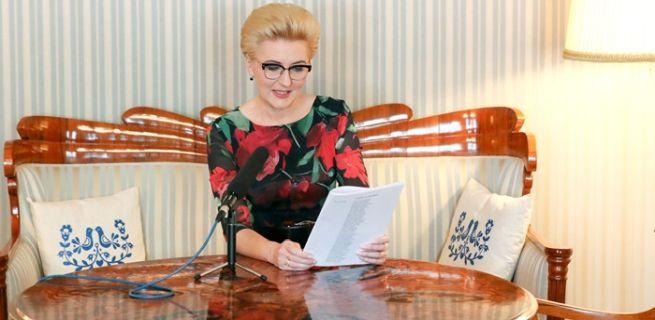 Agata Kornhauser-Duda czyta wiersze Konopnickiej w Radiu Dla Ciebie