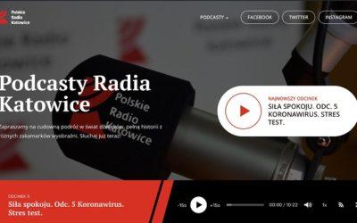 Radio Katowice ze specjalnymi podcastami na kwarantannę