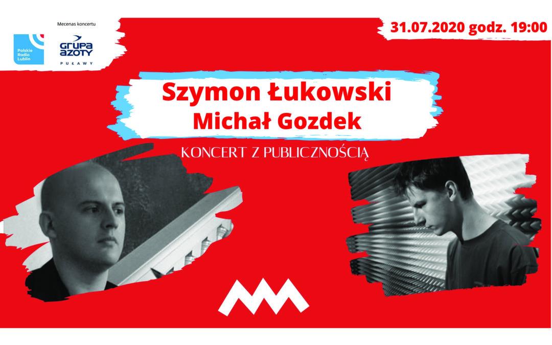 Szymon Łukowski i Michał Gozdek w Radiu Lublin