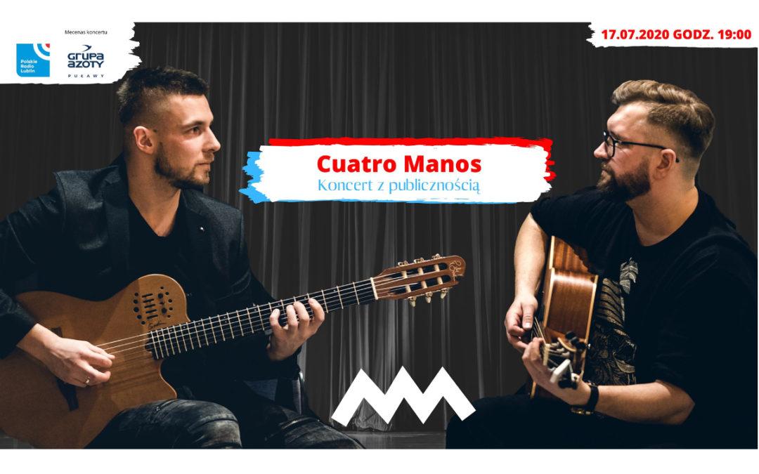 Koncert Cuatro Manos w Radiu Lublin
