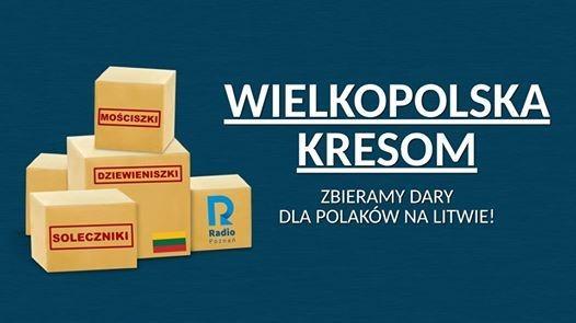 Radio Poznań wznawia wielką akcję pomocy rodakom na Litwie