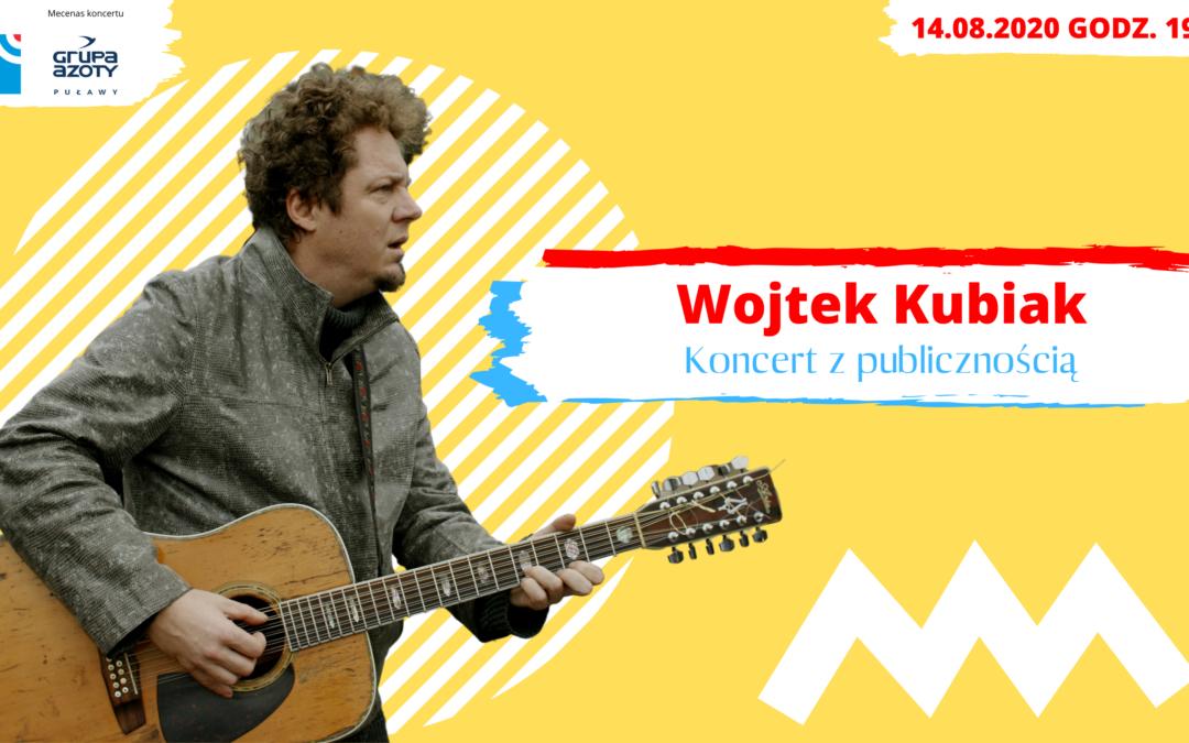 """Radio Lublin zaprasza na koncert Wojtka Kubiaka """"Cud nadwiślański"""""""