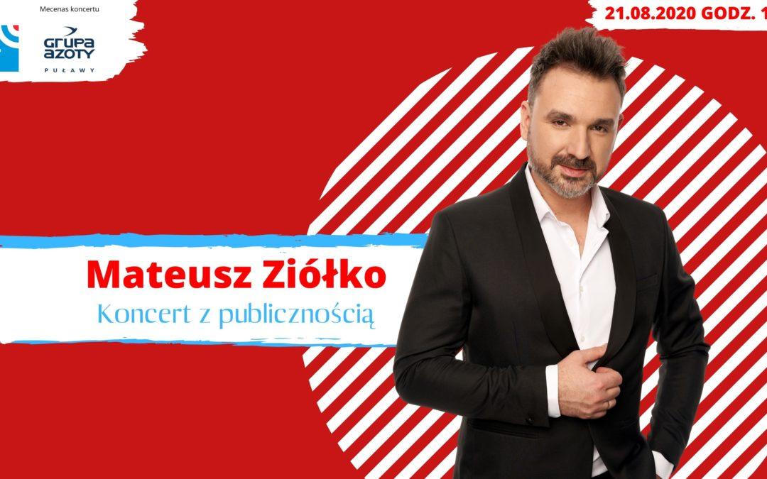 Koncert Matusza Ziółko w Radiu Lublin
