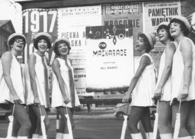 Alibabki Televariete 8-11-1967, z archiwum Wandy Narkiewicz-Jodko