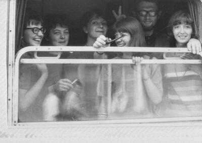 Alibabki - Wanda,Sylwia, Anka, Hanka, Julek, Ewa 1966 z archiwum Wandy Narkiewicz-Jodko