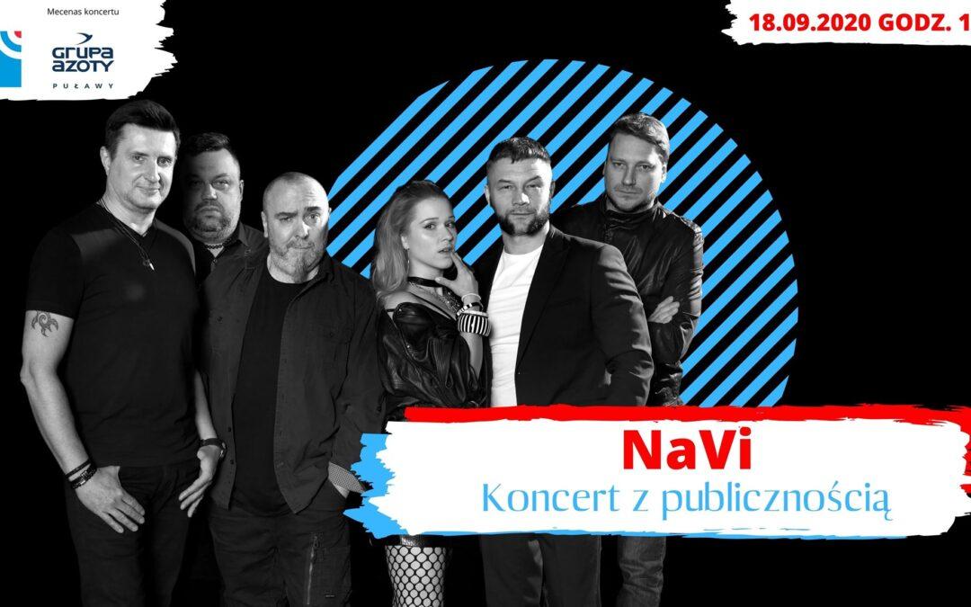 Koncert NaVi w cyklu Nie tylko rock'n'roll Radia Lublin