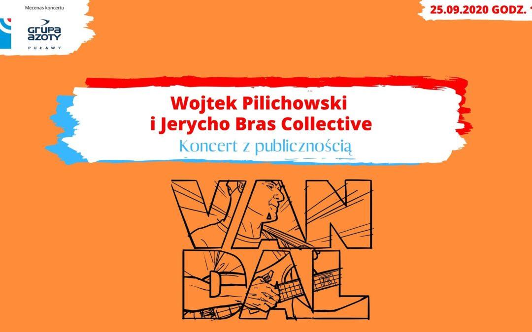 Wojtek Pilichowski i Jerycho Bras Collective w Radiu Lublin