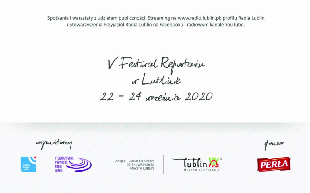 V Festiwal Reportażu w Lublinie