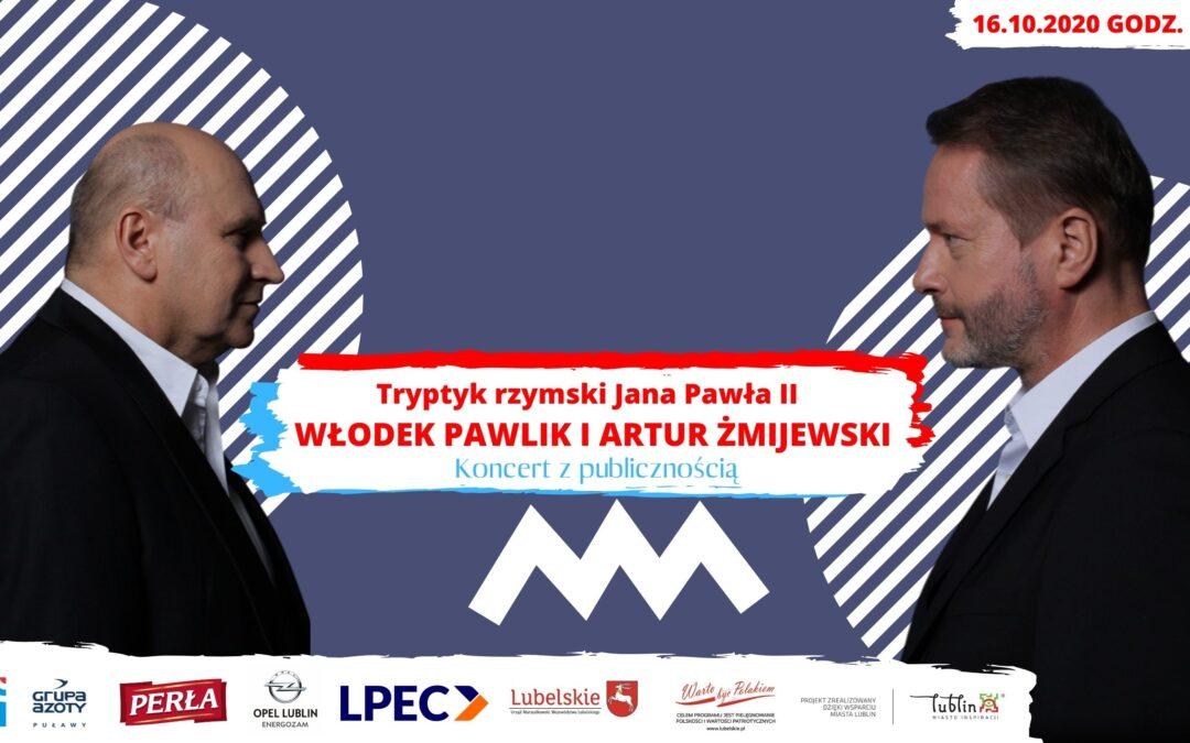 Tryptyk rzymski w wykonaniu Włodka Pawlika i Artura Żmijewskiego w Radiu Lublin