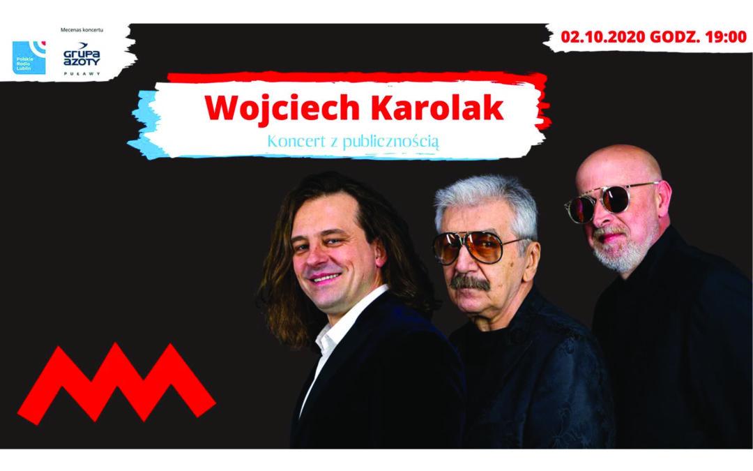 Koncert Wojciecha Karolaka w Radiu Lublin