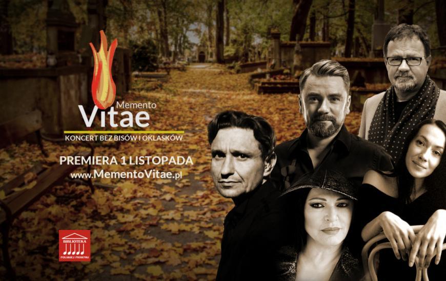 """""""Memento Vitae 2020 – koncert bez bisów i oklasków"""". Premiera 1 listopada"""
