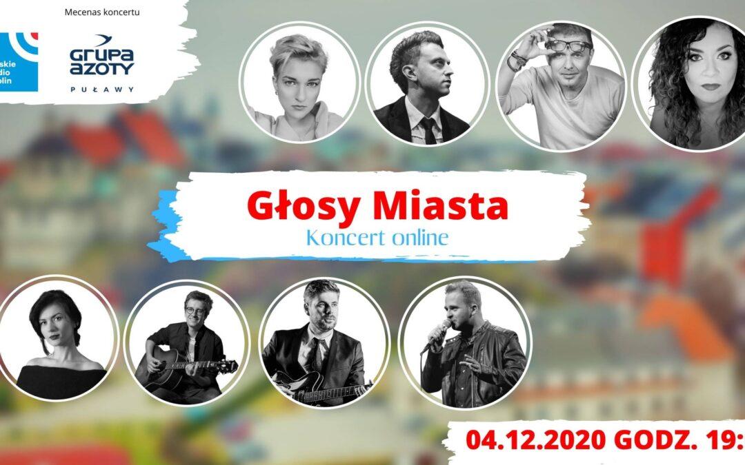 """Radio Lublin zaprasza na koncert """"Głosy miasta"""""""
