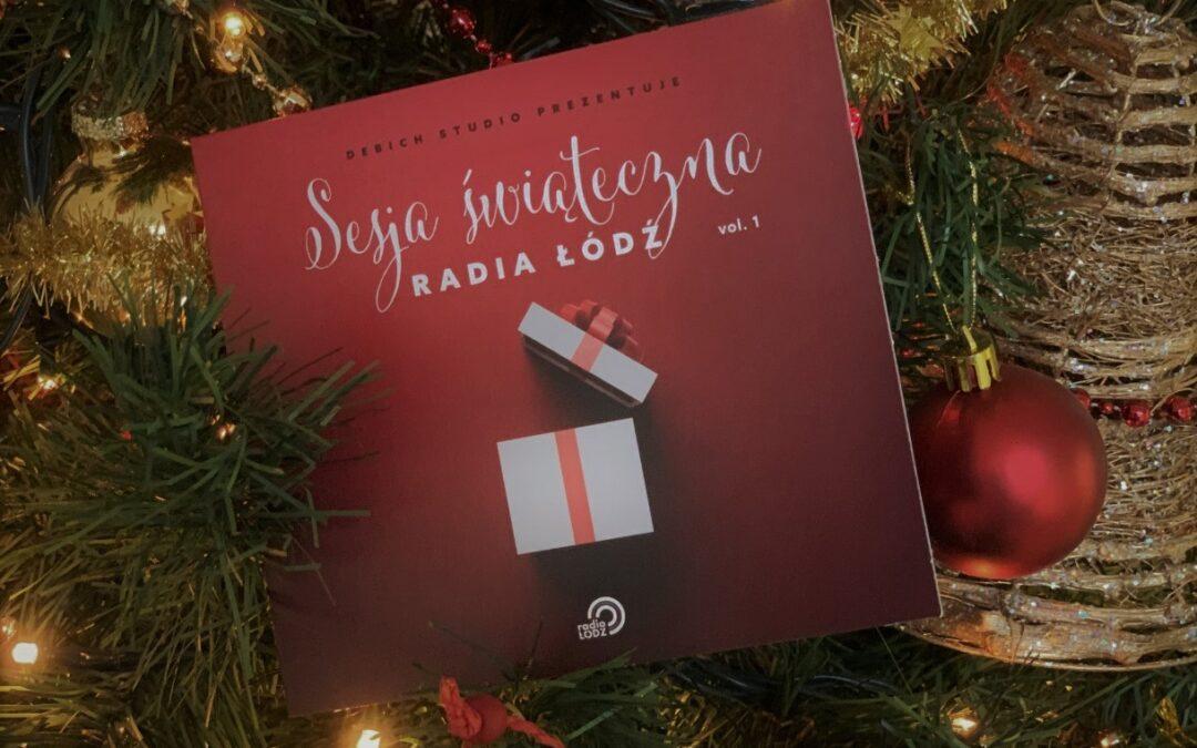 Płyta świąteczna Radia Łódź i Debich Studio
