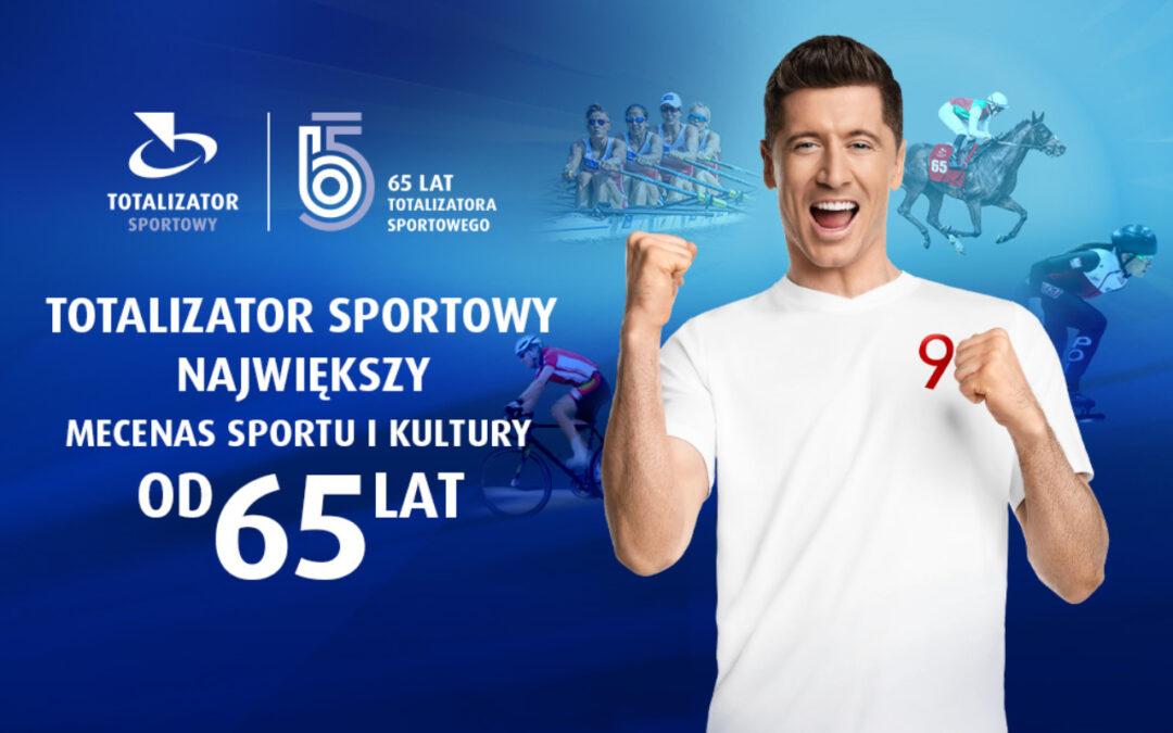 Największy mecenas sportu i kultury – Totalizator Sportowy – obchodzi 65-lecie działalności!