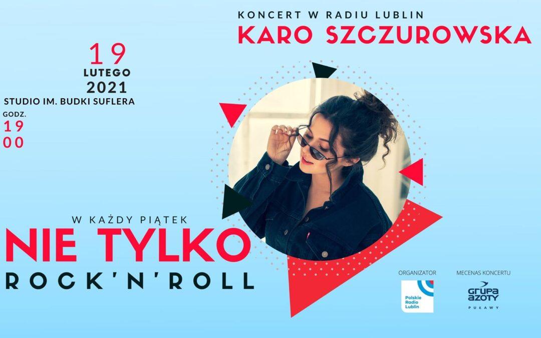 Karo Szczurowska z koncertem online w Radiu Lublin