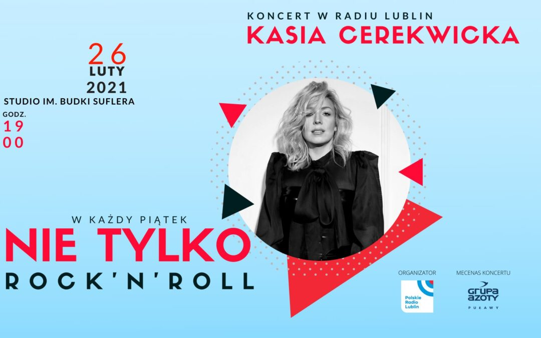 Koncert Kasi Cerekwickiej w Radiu Lublin
