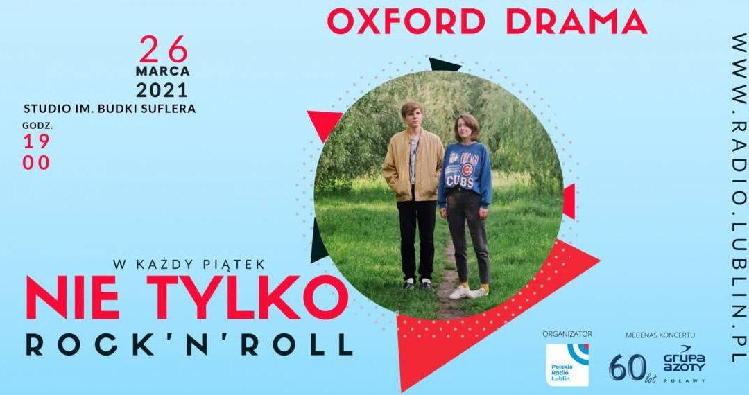 Koncert zespołu Oxford Drama w Radiu Lublin