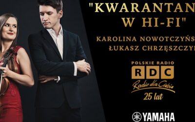 Koncert Karoliny Nowotczyńskiej i Łukasza Chrzęszczyka w studiu Radia dla Ciebie!