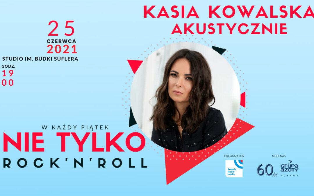 Koncert Kasi Kowalskiej w Radiu Lublin