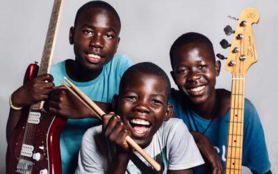 Koncert African Music School – instrumenty zamiast broni w Radiu Kraków