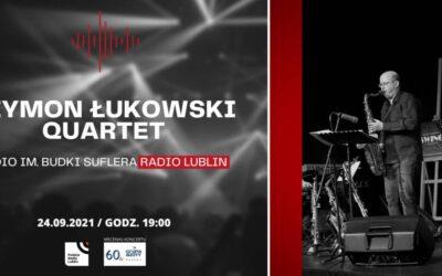 Koncert Szymon Łukowski Quartet w Radiu Lublin